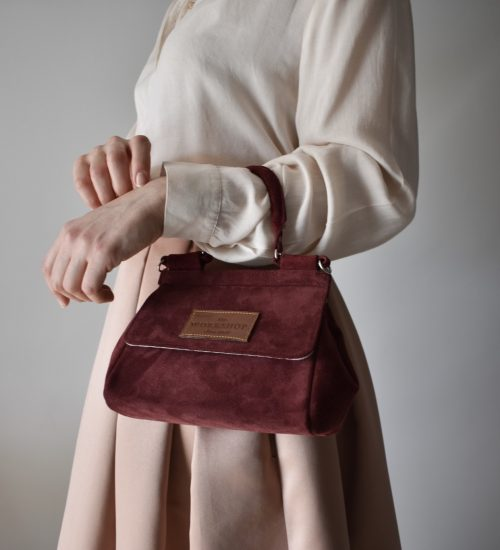 mini bag bordeaux leather women_main - theworkshopshoes