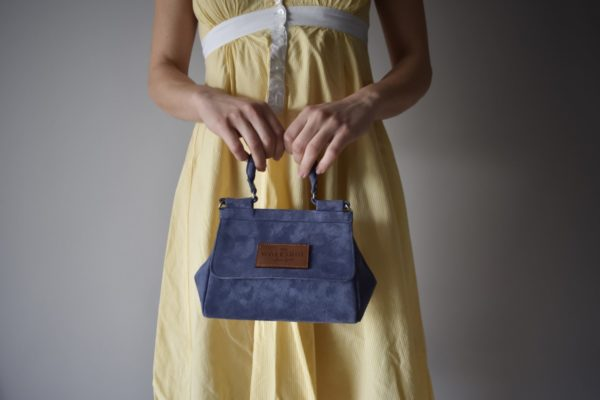 mini bag blue leather women_main - theworkshopshoes